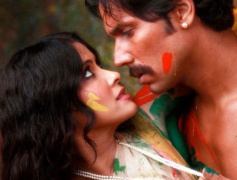 Nude Hot Nandana Sen in Promo of  Rang Rasiya